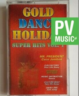 GOLD DANCE HOLIDAY vol.1 Mr. President, Squeezer.. audio cassette