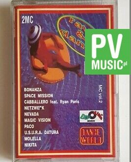 RAVE & DANCE PACO, SPACE MISSION... audio cassette