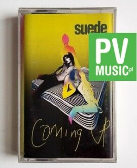 SUEDE COMING UP audio cassette