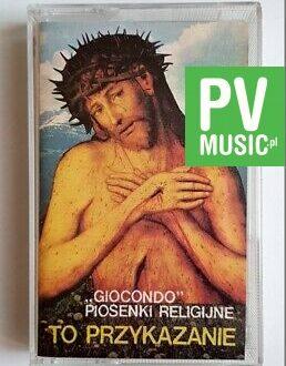 GIOCONDO PIOSENKI RELIGIJNE audio cassette