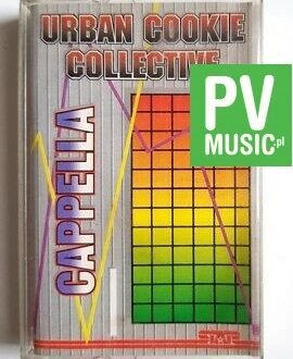 URBAN COOKIE COLLECTIVE & CAPELLA audio cassette
