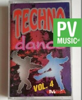TECHNO DANCE vol.4 JAMTRONIC, DR.ALBAN...audio cassette
