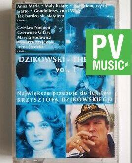 DZIKOWSKI THE BEST vol.1 NAJWIĘKSZE PRZEBOJE audio cassette