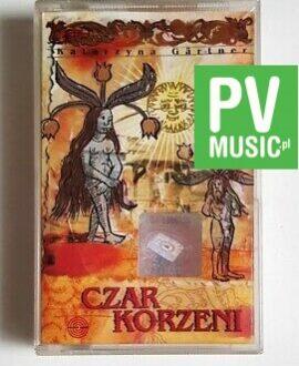 KATARZYNA GARTNER CZAR KORZENI audio cassette