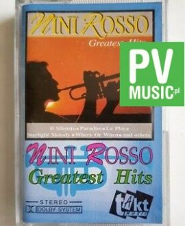 NINI ROSSO THE GREATEST HITS audio cassette
