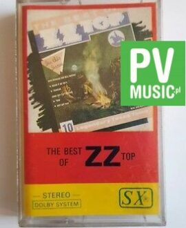 ZZ TOP THE BEST OF audio cassette