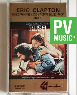 ERIC CLAPTON SOUNDTRACK - RUSH audio cassette