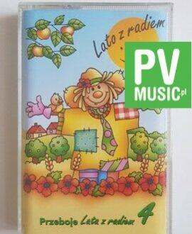 PRZEBOJE LATA Z RADIEM vol.4 audio cassette