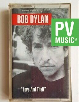 BOB DYLAN LOVE AND THEFT audio cassette