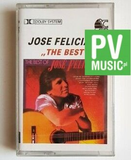 JOSE FELICIANO THE BEST audio cassette