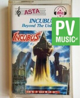 INCUBUS BEYOND THE UNKNOWN audio cassette