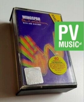 PAUL McCARTNEY WINGSPAN HITS AND HISTORY 2xMC audio cassette