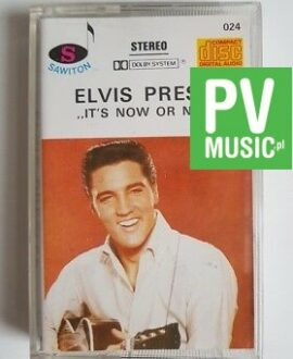 ELVIS PRESLEY IT'S NOW OR NEVER audio cassette