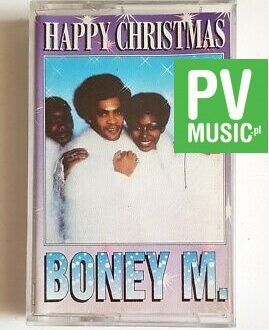 BONEY M. HAPPY CHRISTMAS audio cassette