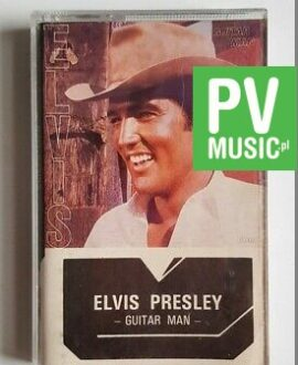 ELVIS PRESLEY GUITAR MAN audio cassette