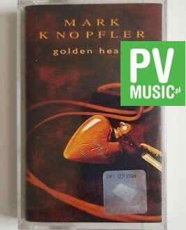 MARK KNOPFLER GOLDEN HEART audio cassette