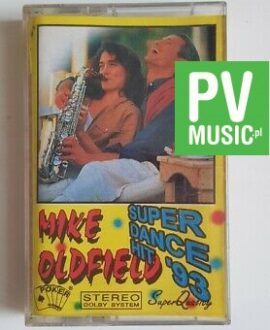 MIKE OLDFIELD SUPER DANCE HIT '93 audio cassette