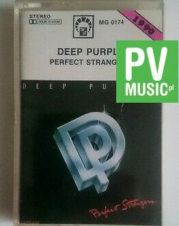 DEEP PURPLE  PERFECT STRANGERS  audio cassette