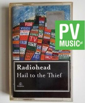 RADIOHEAD HAIL TO THE THIEF audio cassette