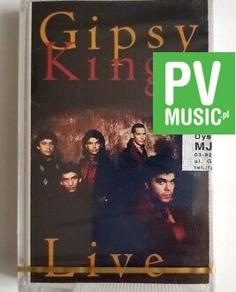 GIPSY KINGS LIVE audio cassette