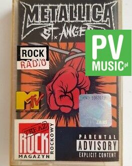 METALLICA ST. ANGER audio cassette