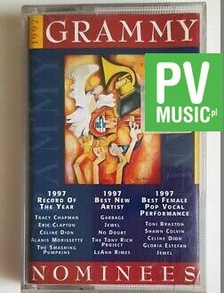1997 GRAMMY NOMINEES E. CLAPTON, THE SMASHING PUMPKINS.. audio cassette