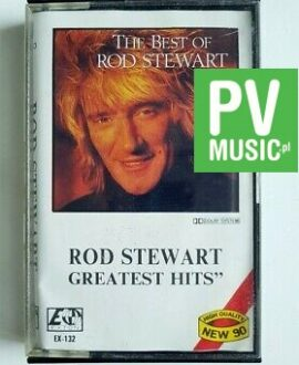 ROD STEWART GREATEST HITS audio cassette