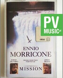 ENNIO MORRICONE THE MISSION audio cassette