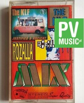 THE KLF & ROZALIA  JUSTIFIED & ANCIENT audio cassette