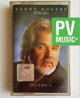 KENNY ROGERS WITH LOVE VOLUME I audio cassette