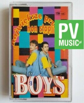 BOYS BEST HITS audio cassette
