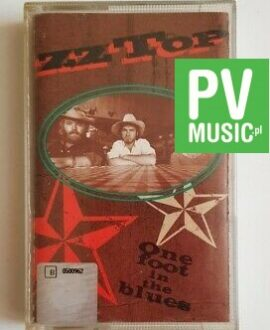 ZZ TOP ONE FOOT IN THE BLUES audio cassette
