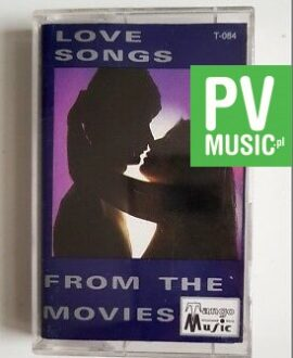 LOVE SONGS FROM THE MOVIES CASABLANCA, A STAR IS BORN.. audio cassette