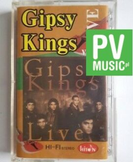 GIPSY KINGS LIVE VOL.I audio cassette