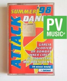 SUMMER DANCE ATTACK SCOOTER, GARCIA audio cassette