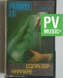 PUHDYS 11 COMPUTER - KARRIERE   audio cassette