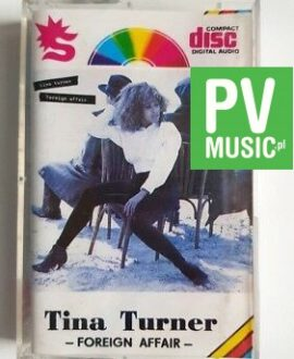 TINA TURNER FOREIGN AFFAIR audio cassette