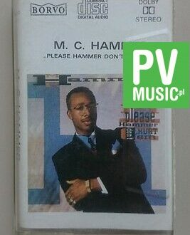 M.C. HAMMER  PLEASE HAMMER DON'T HURT'EM    audio cassette