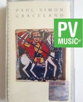 PAUL SIMON GRACELAND audio cassette