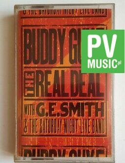 BUDDY GUY LIVE! THE REAL DEAL audio cassette