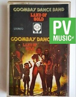 GOOMBAY DANCE BAND LAND OF GOLD audio cassette