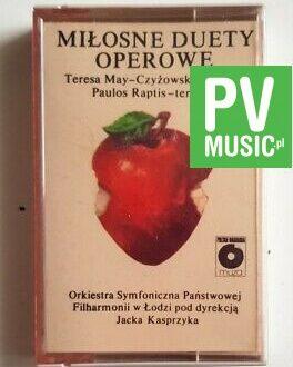 MIŁOSNE DUETY OPEROWE MAY-CZYŻOWSKA, RAPTIS audio cassette