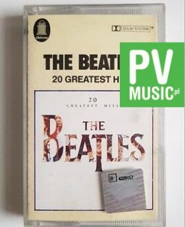 THE BEATLES 20 GREATEST HITS audio cassette