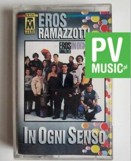 EROS RAMAZZOTTI IN OGNI SENSO audio cassette
