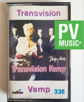 TRANSVISION VAMP POP ART audio cassette