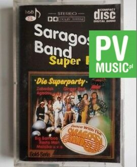 SARAGOSSA BAND SUPER PARTY audio cassette