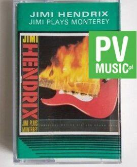 JIMI HENDRIX JIMI PLAYS MONTEREY audio cassette