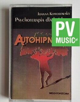 JOANNA KOMOROWSKA AUTOHIPNOZA audio cassette