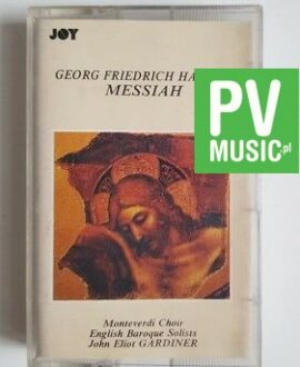 GEORG FRIEDRICH HANDEL MESSIAH audio cassette