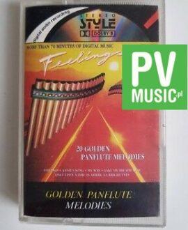 GOLDEN PANFLUTE MELODIES ZACAR, MORRICONE.. audio cassette